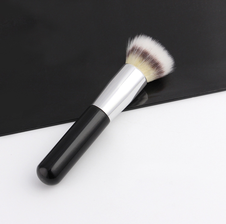 Flat top buffing foundation brush, kabuki Single Synthetic Hair high quality makeup brus ...