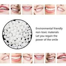 Временный набор для ремонта зубов и зазоров, зубные зубы, твердый клей, протез, клей, стоматологическое восстановление, 10 г, зубной протез, твердый клей#40