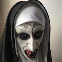 Страшные маски монашек #4
