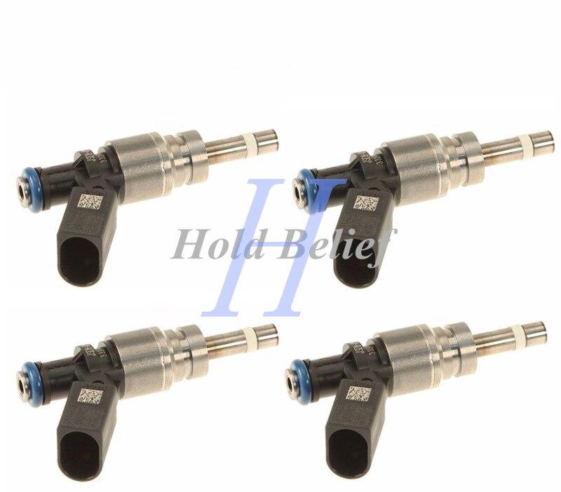 Set Of 4 OEM Fuel Injectors For Hitachi Audi Rs4 079906036D//FIJ0008