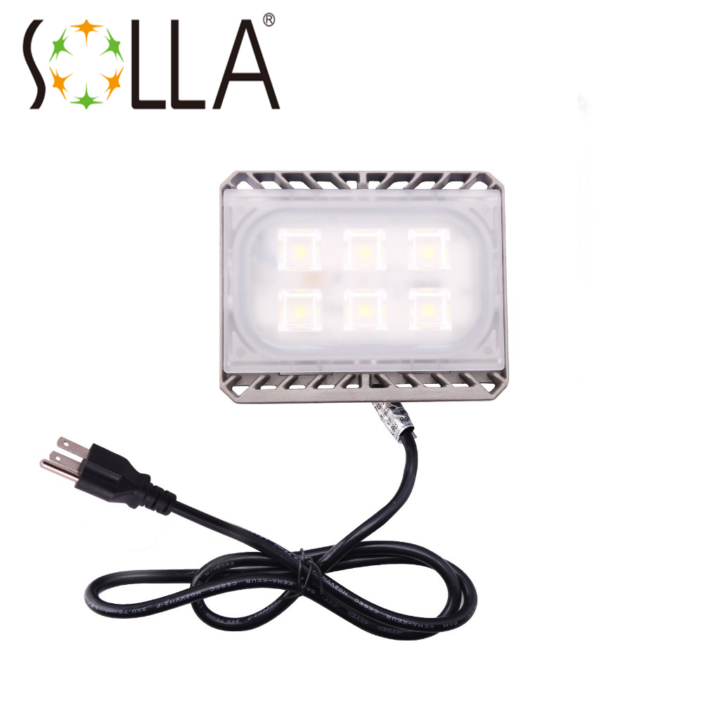 LED Flood Light 30W Cree LED Reflector 220V 110V Floodlight Spotlight Waterproof IP65 Ultrathin Outdoor Lighting  Garage Lamp ultrathin led flood light 200w ac85 265v waterproof ip65 floodlight spotlight outdoor lighting free shipping