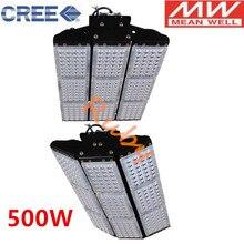 Промышленный светодиодный чип CREE+ светодиодный прожектор Meanwell 100 Вт 150 Вт 200 Вт 300 Вт 500 Вт Светодиодный светильник для туннелей инженерный проектный светильник ing