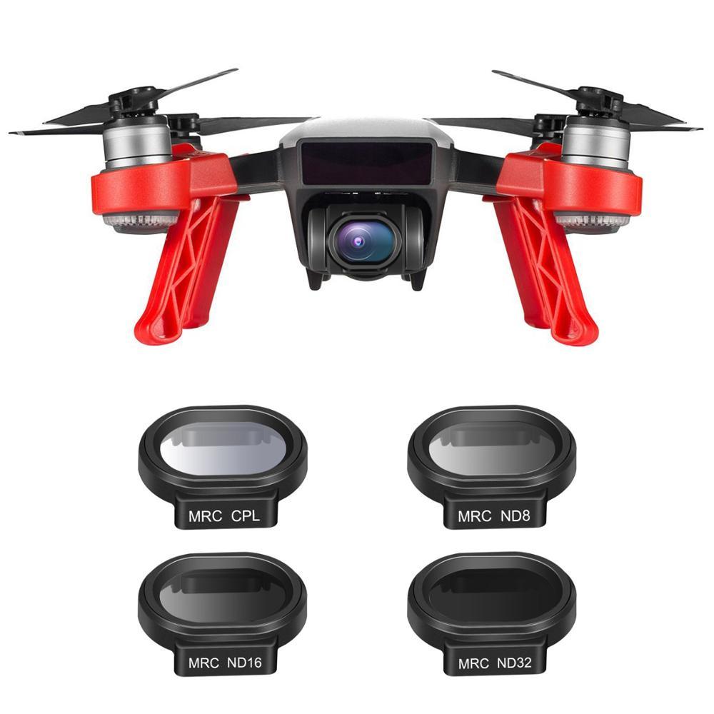 Filtro com – Kit para Dji Neewer Peices Drone Lente Filtro Spark Quadcopter Inclui Multi-revestido Mc-16 hd Nd8 Nd16 Nd32 Cpl Case 4