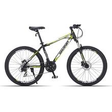 SHANP Горный велосипед стальная рама 24 скорости Shimano дисковые тормоза 26″ колеса