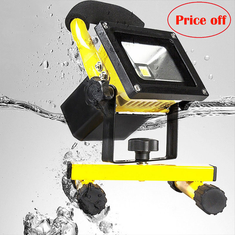 Ccc Sale Real Spotlight Flood Lights Rechargeable Led Floodlight Lithium-ion Battery 5w Lamp Portable Light Ip65 AC90-260V