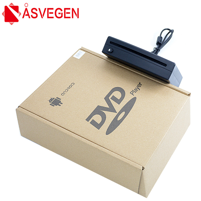 Hot Sale Asvegen Universal External 1Din Android Car GPS Navigation Multimedia DVD CD Video Player System With USB Connection