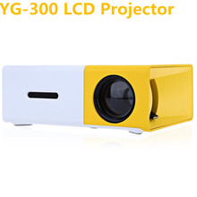 ACCEWIT YG300 YG-300 Projektor LCD Full HD 1080 p Mini 400-600 LM Domu Theather LED Cinema projektor Dla Wideo Odtwarzacz Multimedialny(China)