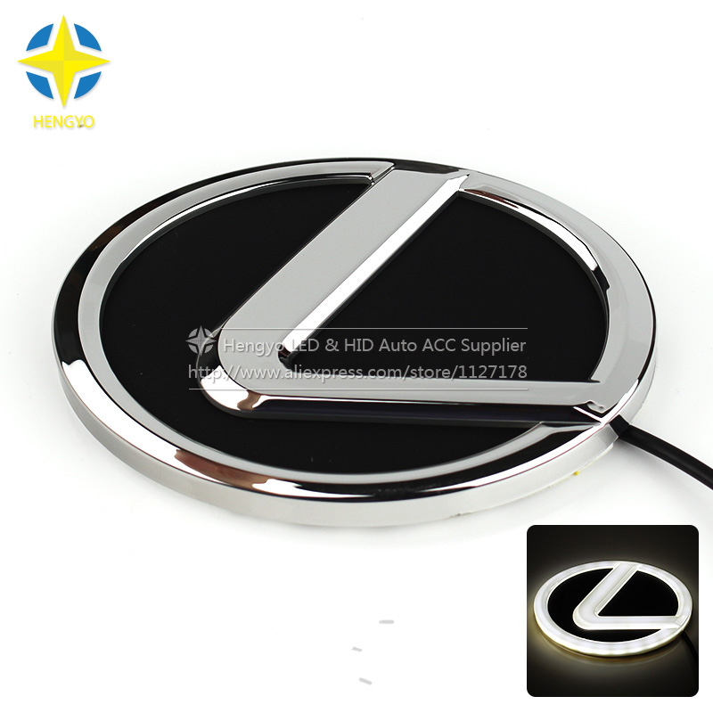 4D Car Logo Light Case For Lexus ES GS EX CT RX LS Series Rear Car Badge Light Auto LED Logo Light Decorative Auto Emblem Lamp рено сценик rx 4 в мурманске