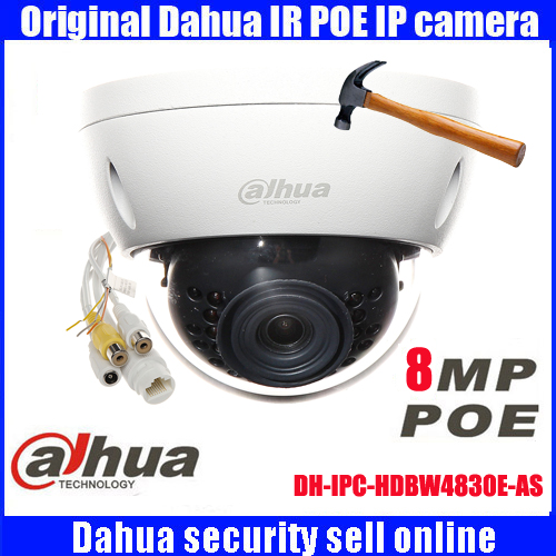 DH-IPC-HDBW4830E-AS DAHUA original 8MP IP Camera audio IP67 IR  Dome Network Camera   IPC-HDBW4830E-AS dahua new model dh ipc hfw4421b ip