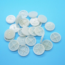 242A Pulleys Diameter 24mm Plastic Belt Wheel Toy Fittings 24-2A Pulley DIY Accessories 100pcs/lot