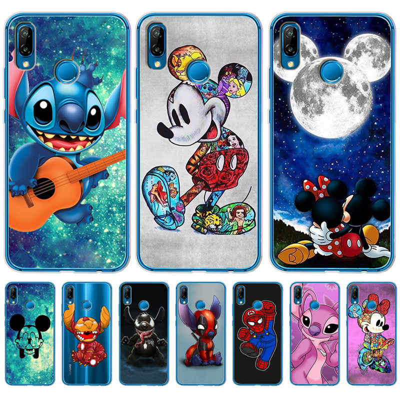 Luxury Stitch Mickey marvel For Huawei Mate 9 10 20 P8 P9 P10 P20 P30 P Smart Lite Plus Pro phone Case Cover Coque Etui funda