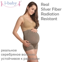 i baby Belly Band Radiation Resistant Dress Women Pants pregnancy Leggings maternity support underwear Antenatal shorts