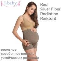 i-baby Belly Band Radiation Resistant Dress Women Pants pregnancy Leggings maternity support underwear Antenatal shorts