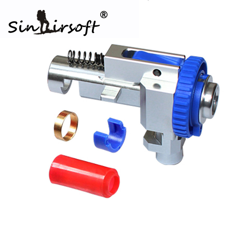SINAIRSOFT CNC 7075 Aviation Aluminum Hop Up Chamber for M4 M16 Series Shooting Paintball Airsoft Marui