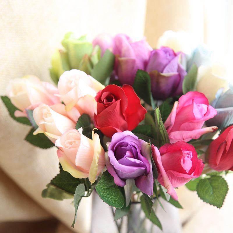 1 Τεμάχιο τεχνητό λουλούδι μεταξωτό - Προϊόντα για τις διακοπές και τα κόμματα - Φωτογραφία 4