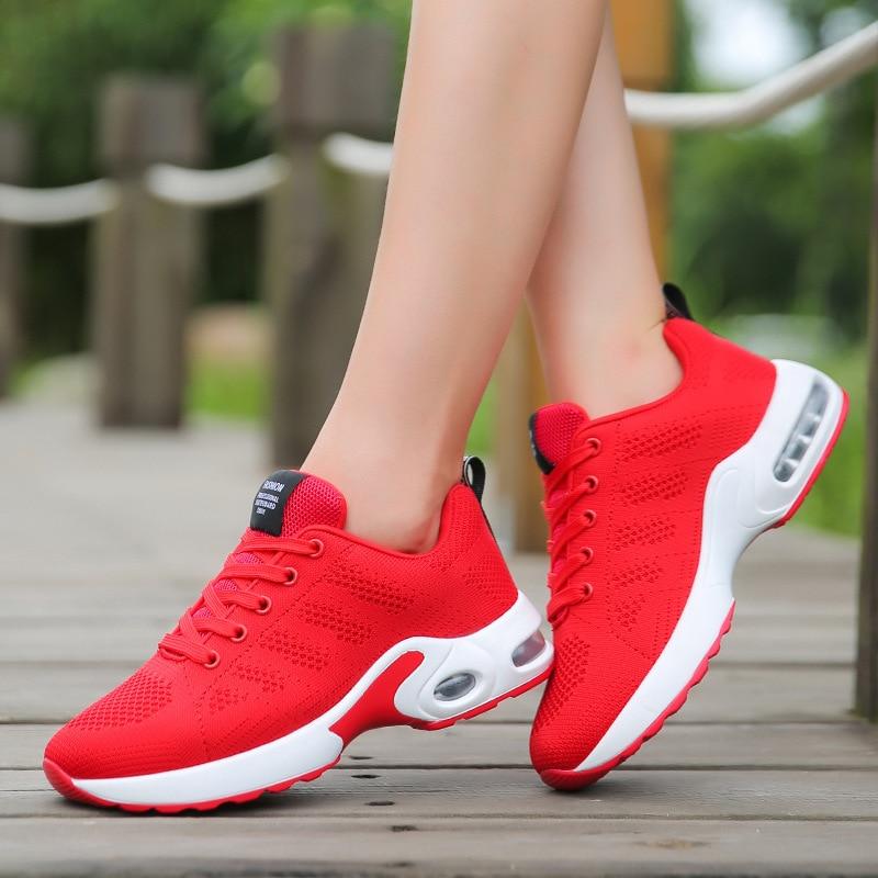 2017 летние и осенние новые обувь из сетчатого материала Женская легкая обувь повседневная обувь женская обувь