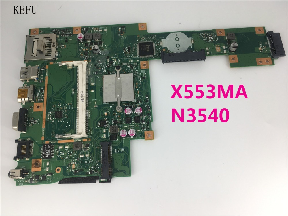 CPU Laptop Motherboard Mainboard A553M ASUS for A553m/X503m/F503m/X553ma N3540/Cpu/X553ma/Rev.2.0