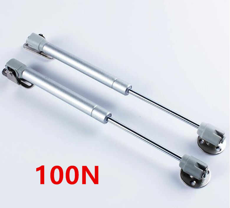 2018 New 100N Furniture Hinge Kitchen Cabinet Door Lift Pneumatic Support Hydraulic Gas Spring Stay Hold Pneumatic hardware