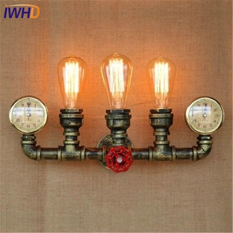 Amercian Loft стиль залізний водопровідний - Внутрішнє освітлення