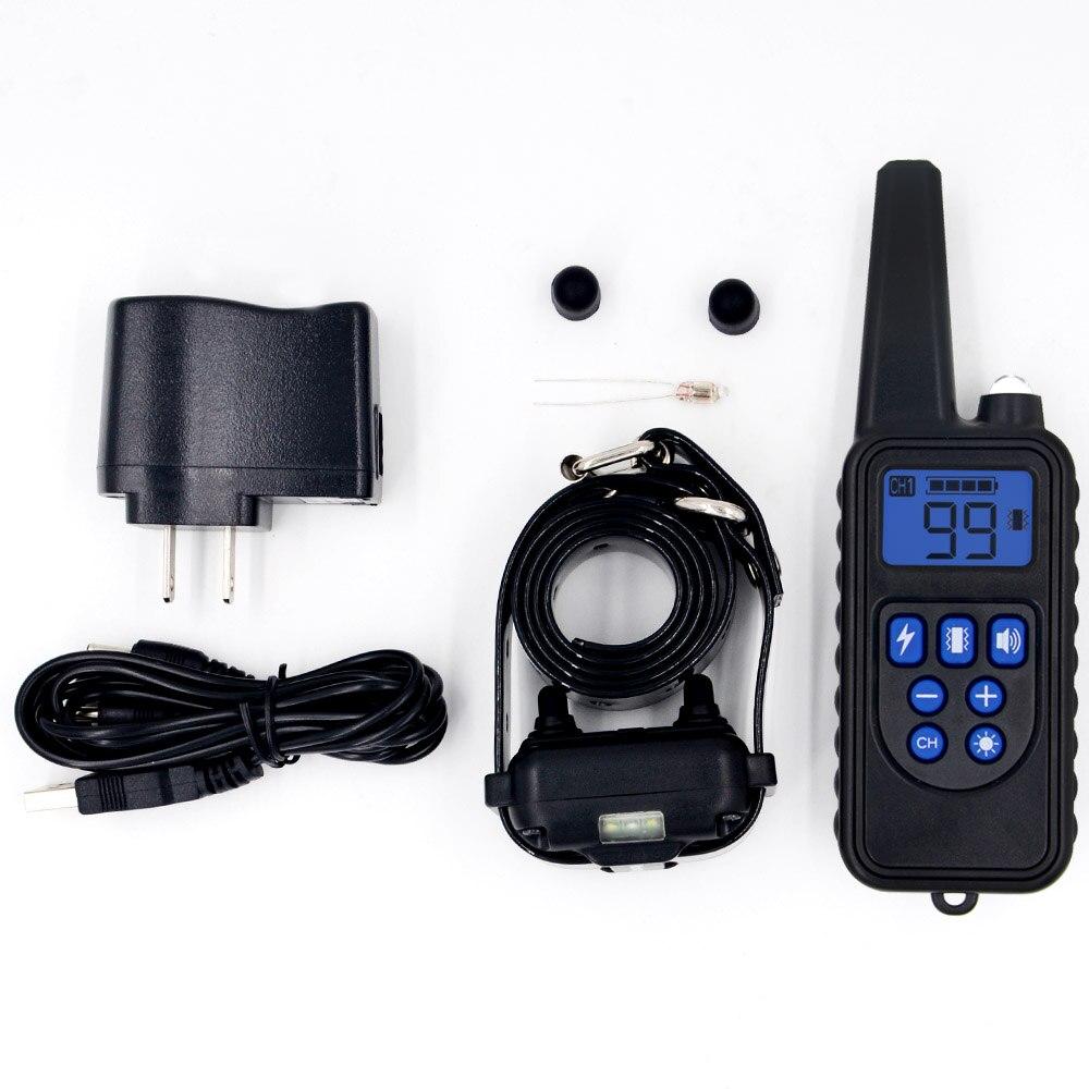 Remote Control Waterproof Dog Training Electric Shock Collar  5