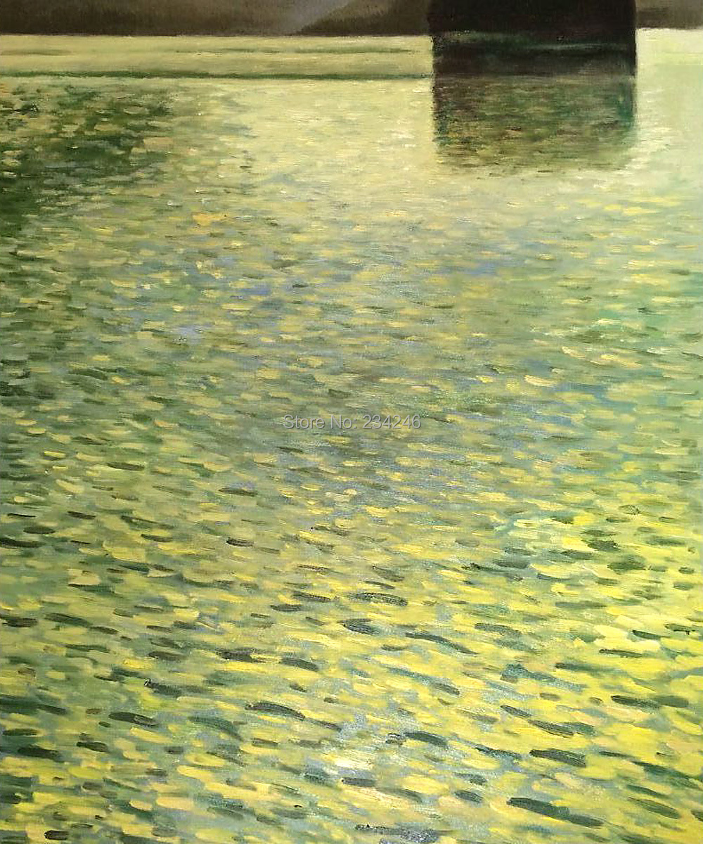 Museum Quality Canvas Oil Painting for Wall Decor - Island In lake Atter, Around 1901 Gustav Klimt  Painting Classical HandmadeMuseum Quality Canvas Oil Painting for Wall Decor - Island In lake Atter, Around 1901 Gustav Klimt  Painting Classical Handmade