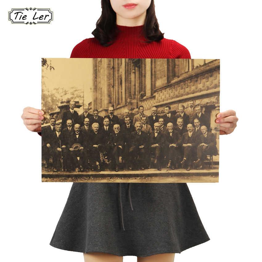 Amazon.com: Zero.o Scientists Solvay Conference Poster Standard ...   850x850