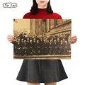TIE LER ученое собрание 1927 год растворимая Классическая Настенная картина винтажный постер HD Бар Кафе Ретро Декор стен 51x36 см
