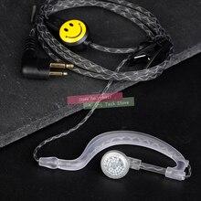 Wysokiej jakości Walkie Talkie Earhook Mic słuchawka dwukierunkowa Radio zestaw słuchawkowy M typ słuchawki dla Motorola GP88 HYT 500S SMP A6 A8