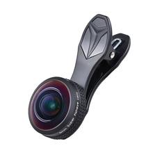 Apexel Optic Pro lens, 8mm full frame super fisheye lens, 0.2X 238 degree Wide angle lens for iPhone 6/6S plus Samsung HTC