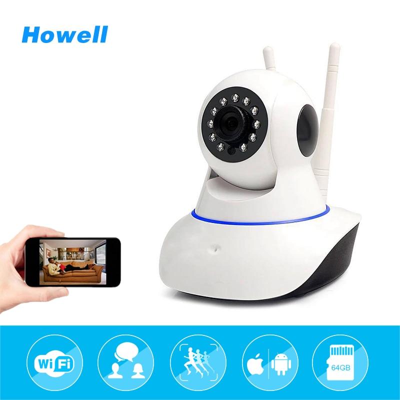Howell HD Wireless Wifi IP Camera 1080P Night Vision Security Camera Surveillance Baby Monitor Night P2P network CCTV ip camera камера наблюдения wifi ip camera hd 1080p wifi ip p2p
