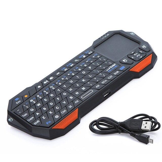 Новый Утра тонкий и Легкий 3 в 1 Мини Беспроводной Bluetooth Клавиатура Мышь Сенсорная Панель Для Ос Windows Для Android Для iOS
