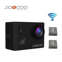 Free Shipping SOOCOO C30 Wifi Ultra HD 2K 2 0 Screen 170 120 90 Angle Waterproof