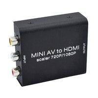 Original Composite RCA AV HDMI CVBS To HDMI Adapter Support HD 720P 1080P AV To HDMI