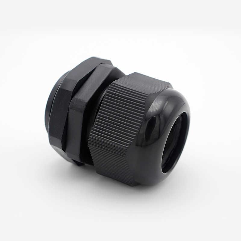 1 unids/lote M32 Nylon glándula de Cable impermeable Junta conector de plástico para 16-21mm de alta calidad IP68