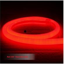 1-10 m mini 14mm de diâmetro rodada Neon flex, 120 pcs 2835/m de 360 graus de iluminação led tubo de néon, 220-240 V placa do sinal levou tubo(China (Mainland))