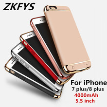 4000mAh Portable High Quality Power Bank Battery Cover For iPhone 7 plus Battery Cover For iPhone 8 plus Battery Charging Case oasis softi 4000mah 23100 35 page 8