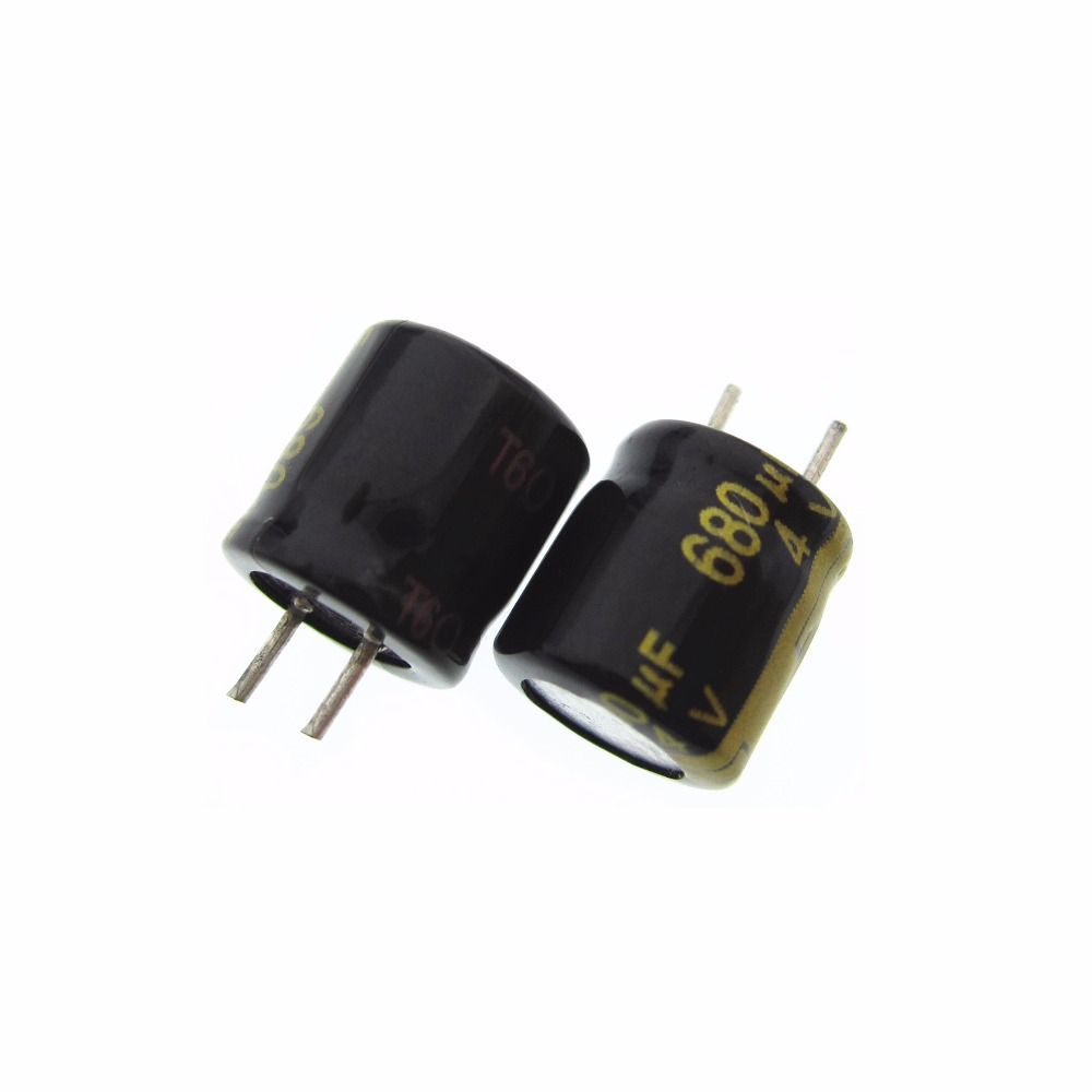 100 pcs NEW MFZ ORIGINAL 4 V 680 UF MFZ <font><b>Capacitor</b></font> 680 UF/4 V 8x8mm image