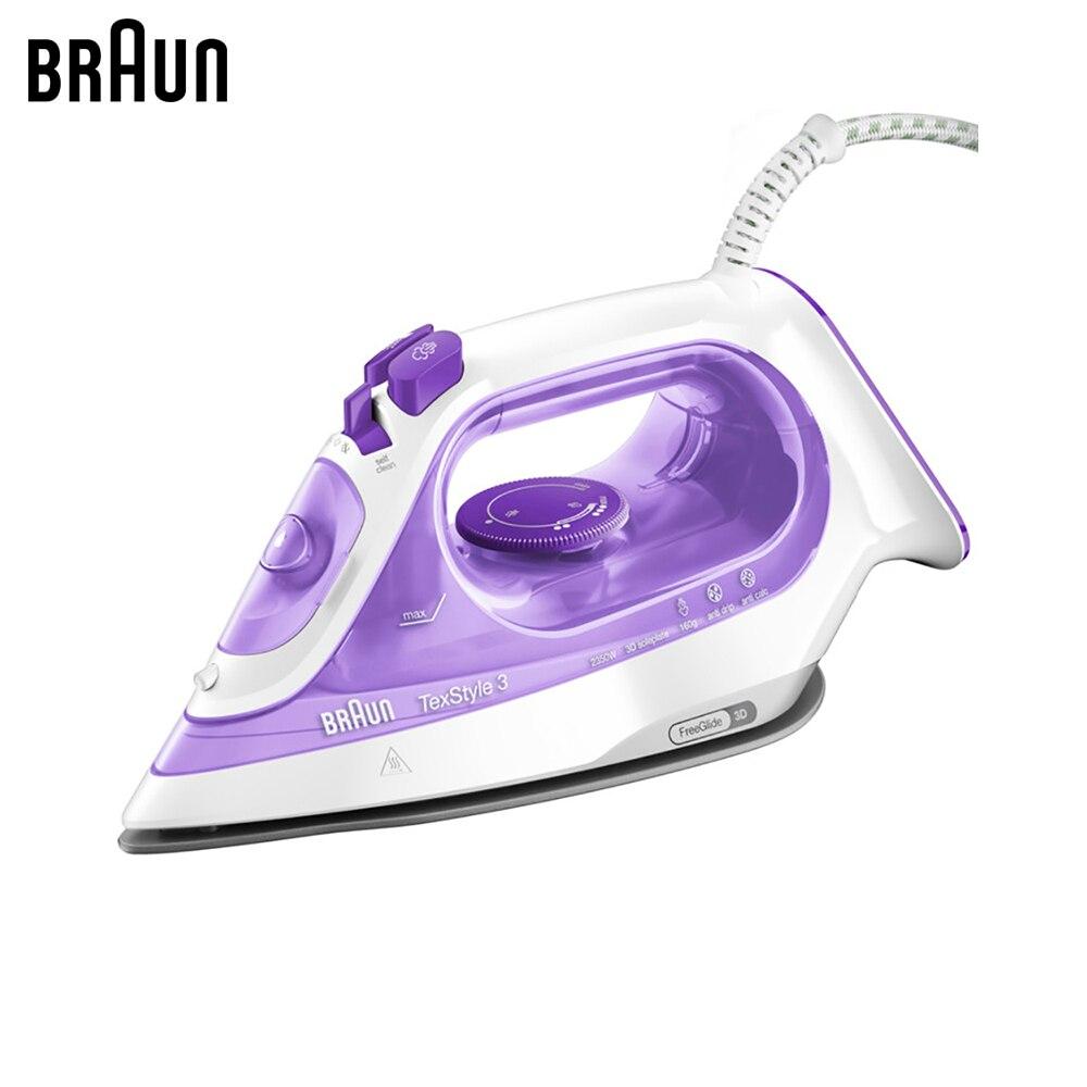 Electric Irons BRAUN SI3042VI steam iron steamer Laundry Appliances generator все цены