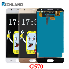 5.0''  G570 2GB RAM Original Display for SAMSUNG J5 Prime LCD Touch Screen with Frame for SAMSUNG Galaxy J5 Prime G570F SM-G570 цена и фото