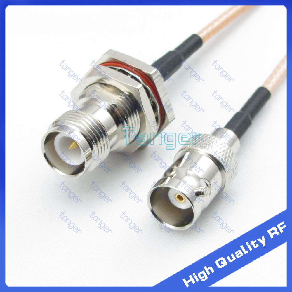 T-type Three TNC Female  Connector USA Seller QTY 1