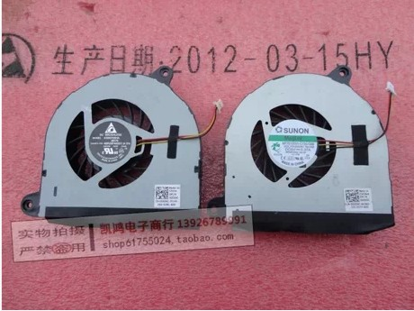 Laptop CPU Cooler Fan for Inspiron Dell 17R 5720 7720 3760 5720 Turbo INS17TD-2728 KSB0705HA-BK76 FAN DFS601305FQ0T FB6N D0D6C