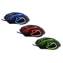 New Wired Gaming Mouse Mice Professional USB Optical Computer Mouse 6 Buttons E-Sports Mice Ratones Pc 5000DPI S0A10 T22