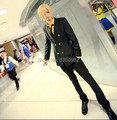 Anime One Piece Cospaly 2years later Sanji Cosplay Costumes Full Set Halloween Costume for men Any Size for Party