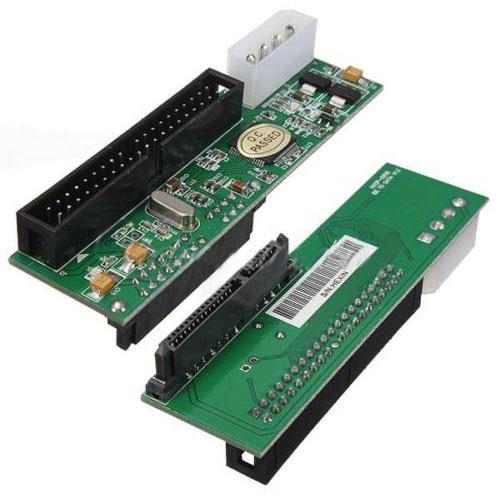 GTFS-Hot 2.5/3.5 Drive 40 Pin Serial ATA SATA to PATA IDE Card Adapter Converter New