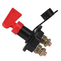 Rotary Switch 60 Volt 400 Amp Battery Disconnect Cut Off Kill Switch With Removable Key 4