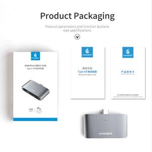 Image 5 - Hagibis Type C Card Reader USB C To USB 3.0 SD/Micro SD/TF OTG Card Adapter For Laptop/USB C Phone TypeC Multifunction Converter
