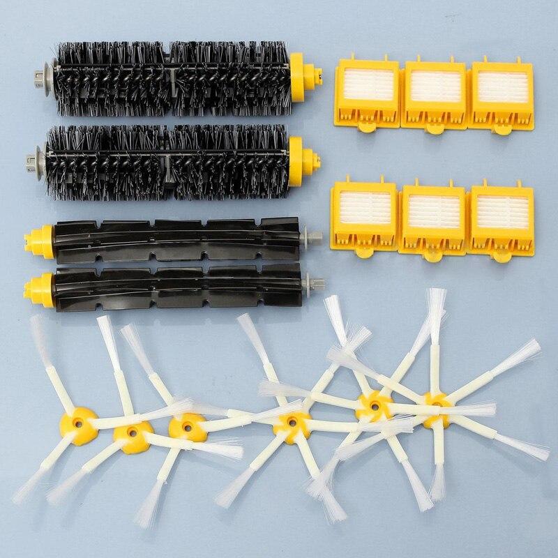 Clean Accessory Brush & Hepa Vacuum Filters For iRobot Roomba 700 Series 760 770 780