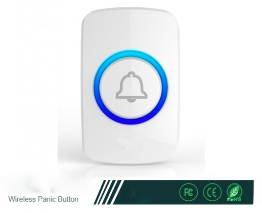 Kerui Panic Button  F51  Wireless Transmitter Panic Button used for elderly people or emergency situation alarm system