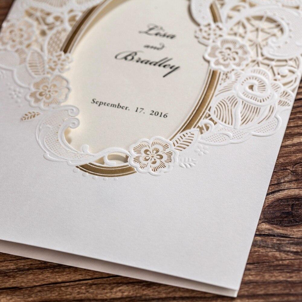 aliexpress : buy cw5185 white royal wedding invitation card, Wedding invitations