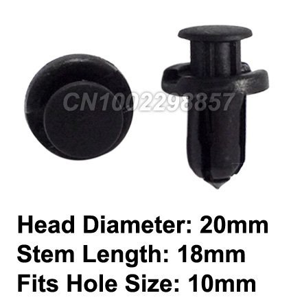 FREE SHIPPING Front & Rear Bumper Push-Type Retainer Clip Fastener Fit for Honda & Acura Replace #91503-SZ5-003 Accord Civic